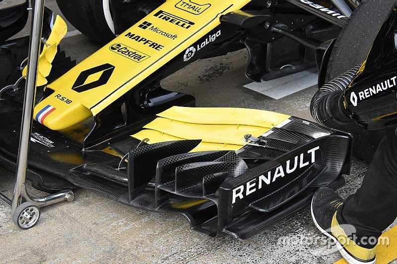 Renault to race new concept front wing