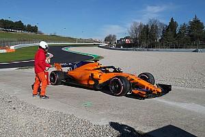 Formule 1 Résumé d'essais Barcelone, J8 - Renault, McLaren et Sauber en difficulté