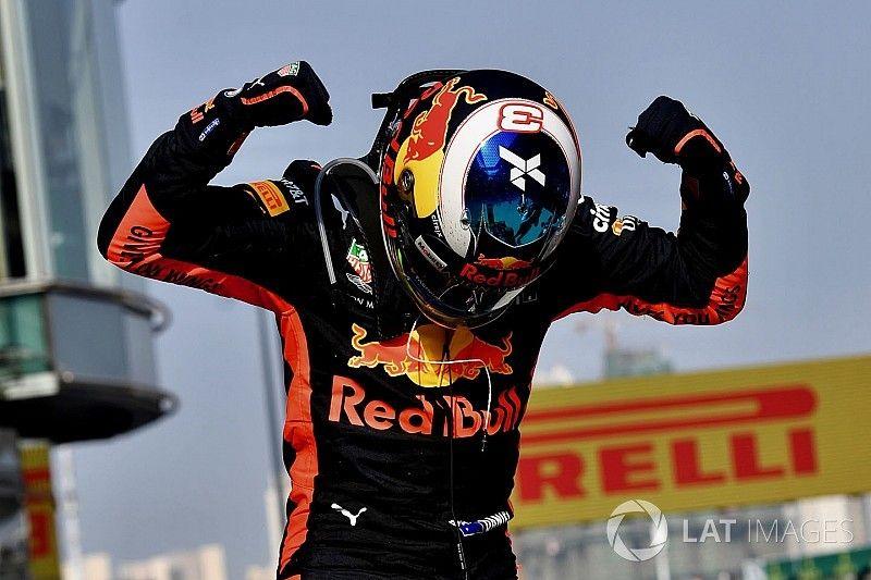 Ricciardo dice que Red Bull necesita más victorias para convencerle