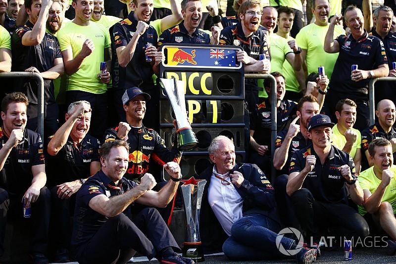 Horner: Red Bull 2018'de Mercedes ve Ferrari ile mücadele edebileceğini gösterdi