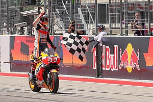 MotoGP Intervista Marquez se la ride: