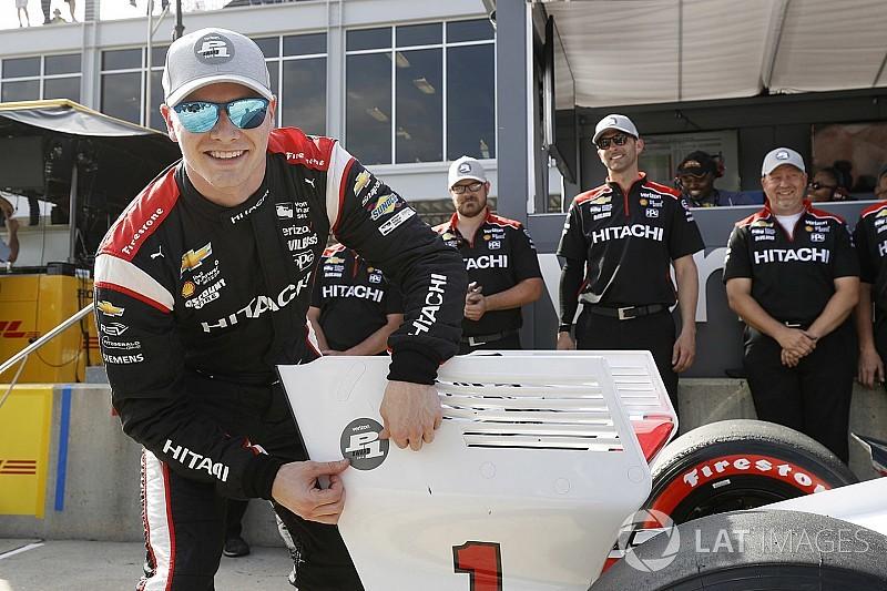 Egyetlen század (!) döntött a két csapattárs között az IndyCar barberi pole-járól