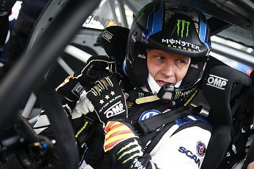 Belgium World RX: Solberg ahead on Day 1 despite damage