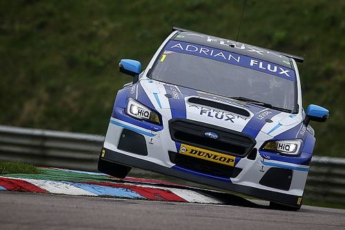 Champion Sutton tops Thruxton BTCC test