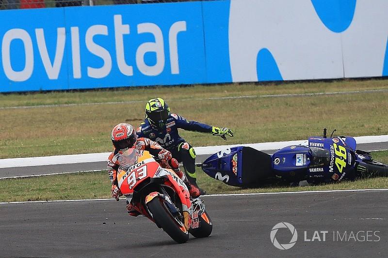 """Márquez sobre una nueva guerra con Rossi: """"Me preocupa cero"""""""