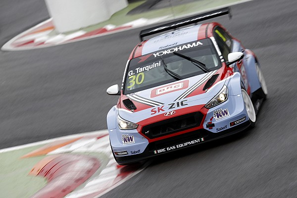 WTCR Marrakesh WTCR: Tarquini doubles up with Race 3 win