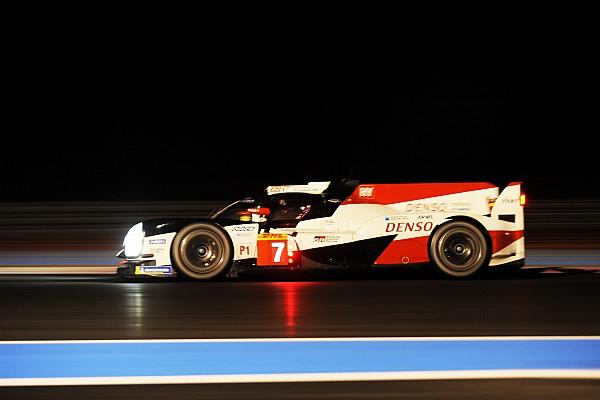 WEC Toyota termina el Prólogo con cuatro segundos de ventaja
