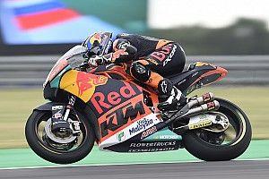 Austin, Libere 1: Oliveira mette in vetta la KTM, scivola Bagnaia