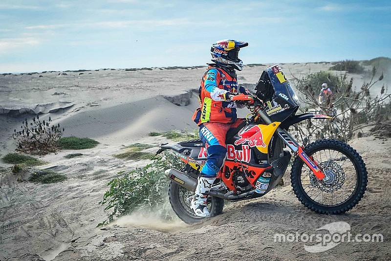 Fotogallery: Matthias Walkner, vincitore Moto della Dakar 2018
