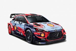 Hyundai показала машину для нового сезона WRC