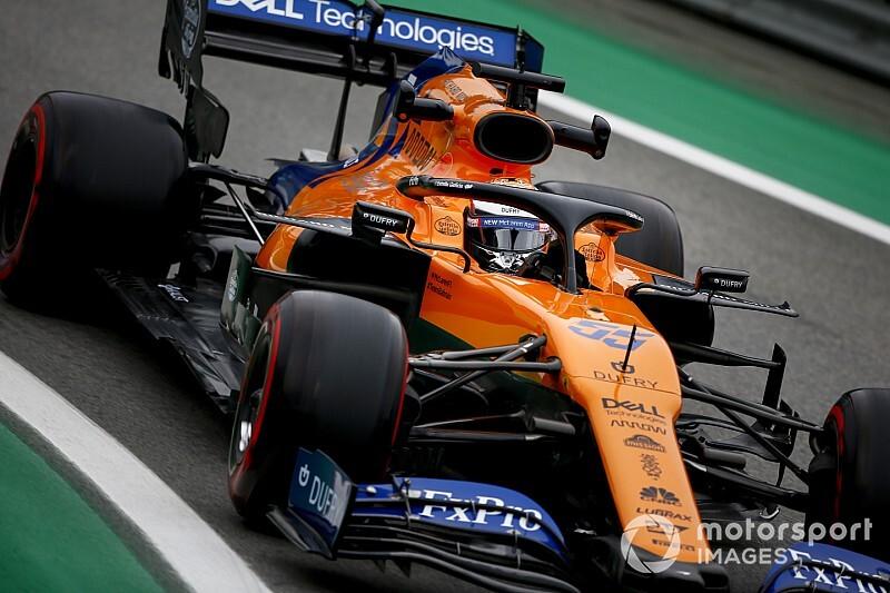 Sainz logra su primer podio en la Fórmula 1 en Brasil