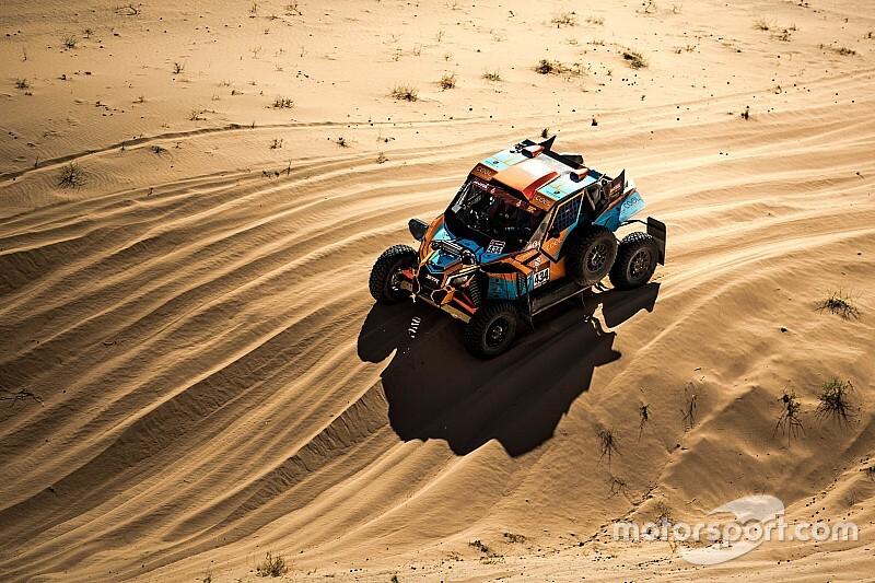 """Une première expérience """"positive"""" sur le Dakar pour Vincent Rodriguez"""