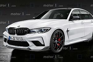 Exkluzív renderképeken mutatjuk, hogyan fog szerintünk kinézni az új M3-as BMW
