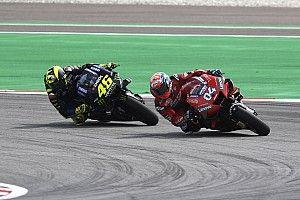 """Dovizioso: """"Rossi es agresivo, pero no hace estupideces"""""""