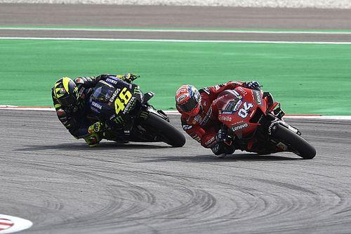 """Dovizioso genoot van duel met Rossi: """"Agressief, maar niet gek"""""""