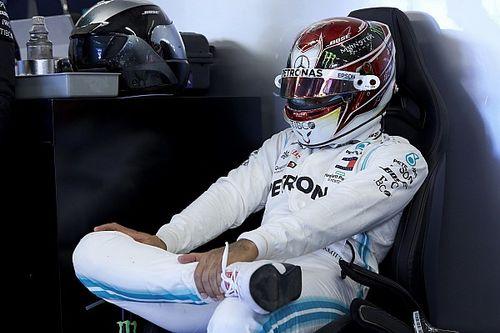 """F1: Hamilton assume """"culpa"""" por largar em quinto no GP dos EUA"""