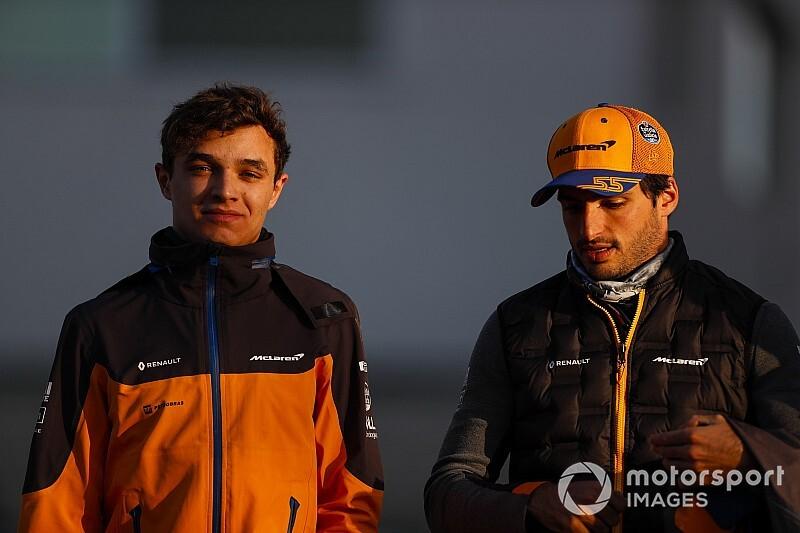 "Sainz: Norris reaction to podium shows ""a true gentleman"""