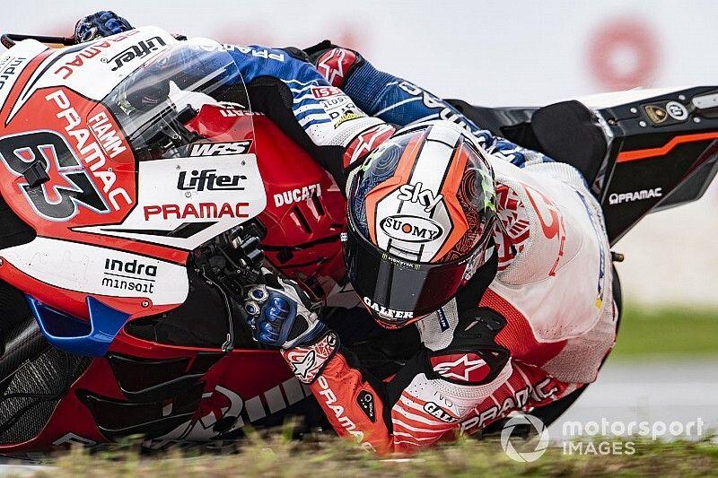 Bagnaia focalisé sur son objectif : l'équipe officielle Ducati en 2021