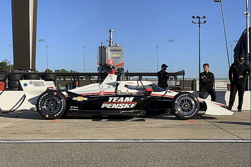 "Newgarden: Aeroscreen felt ""kind of normal"" in first test"