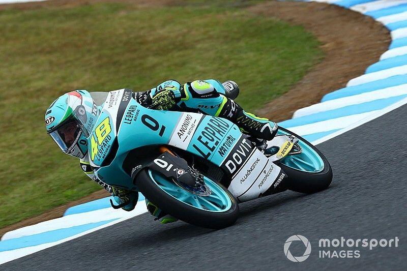 Motegi Moto3: Dalla Porta wins as title rivals crash