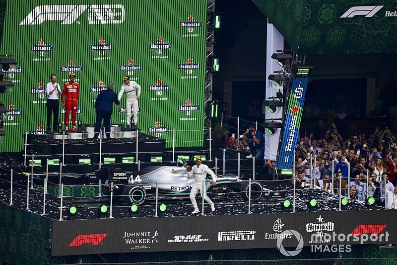 Galería: los 21 podios de la temporada 2019 de F1