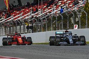 Bottas y Mercedes mandan en el último día de test y Pérez 7°