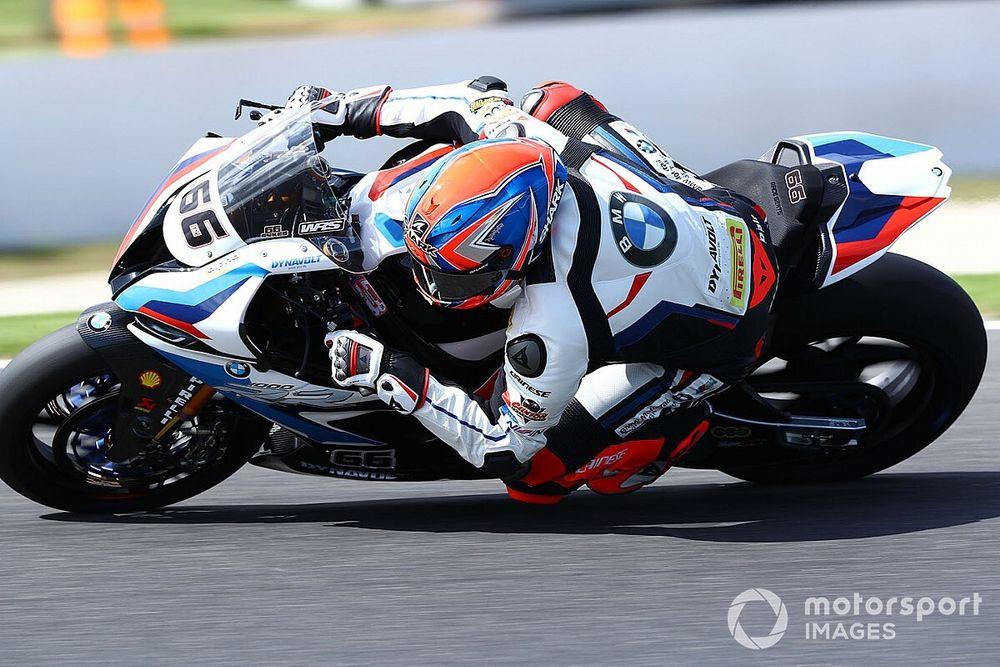 SBK, Sykes e Laverty in pista per un test BMW al Lausitzring