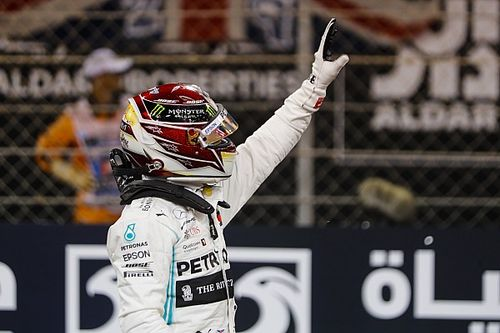 Abu Dhabi GP: Hamilton grabs final pole of 2019