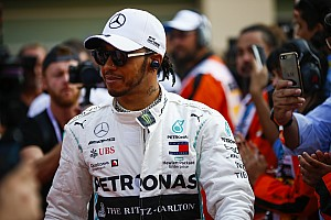 """Hamilton: """"Al mijn rivalen bellen Wolff voor plekje bij Mercedes"""""""