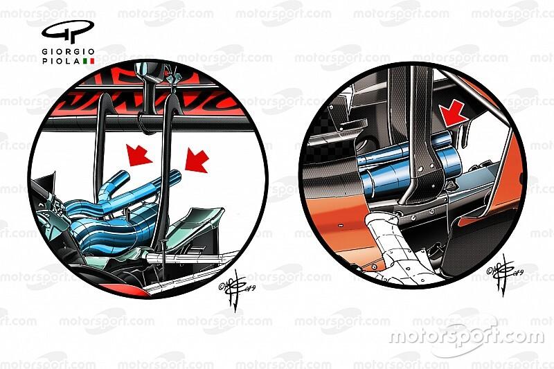 Технический анализ: как гидравлическая подвеска и выхлоп могут помочь Ferrari в 2020 году