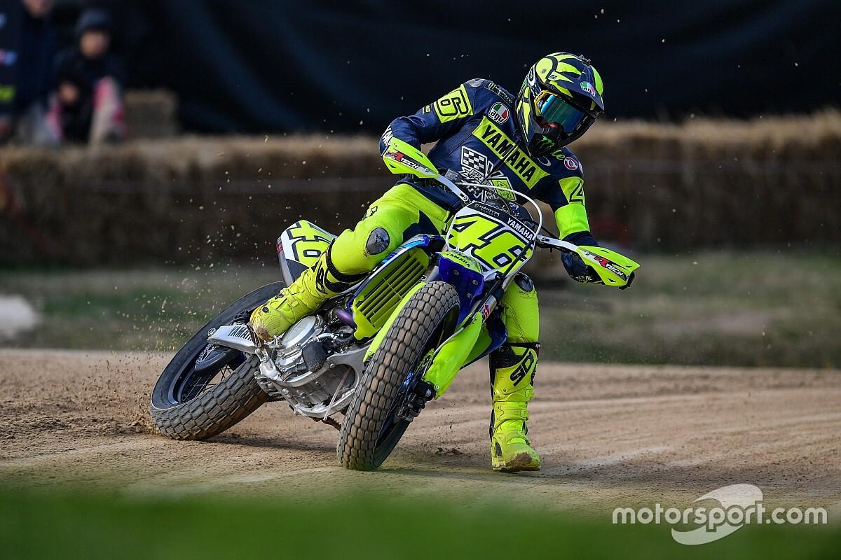 Rossi y Morbidelli ya entrenan en moto en el Ranch de Tavullia