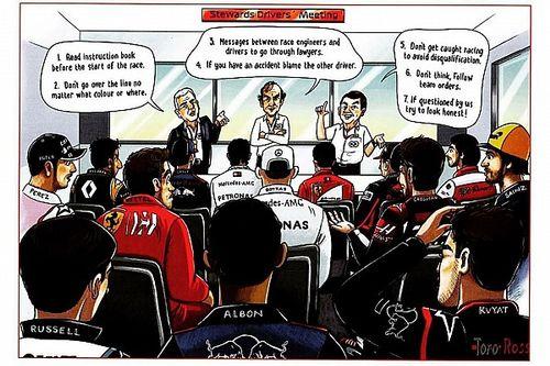 La critica de Ecclestone a la F1 en su postal de Navidad