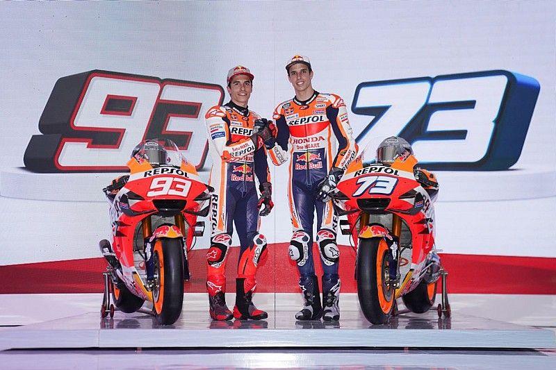 Honda представила байки для братьев Маркесов