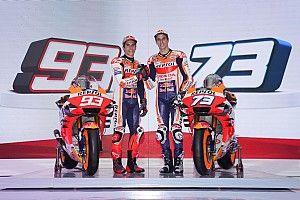 Irmãos Márquez apresentam novo modelo da Honda para temporada 2020 da MotoGP