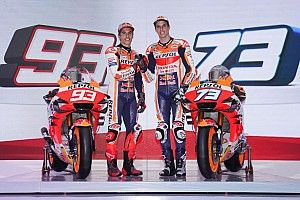 MotoGP 2020: Marquez-Brüder zeigen neue Honda RC213V in Jakarta