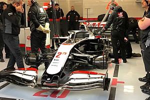 Haas VF-20 впервые показали публике