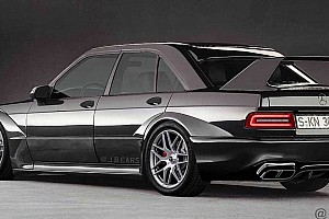 Így mutatna a modern kori Mercedes 190E EVO II