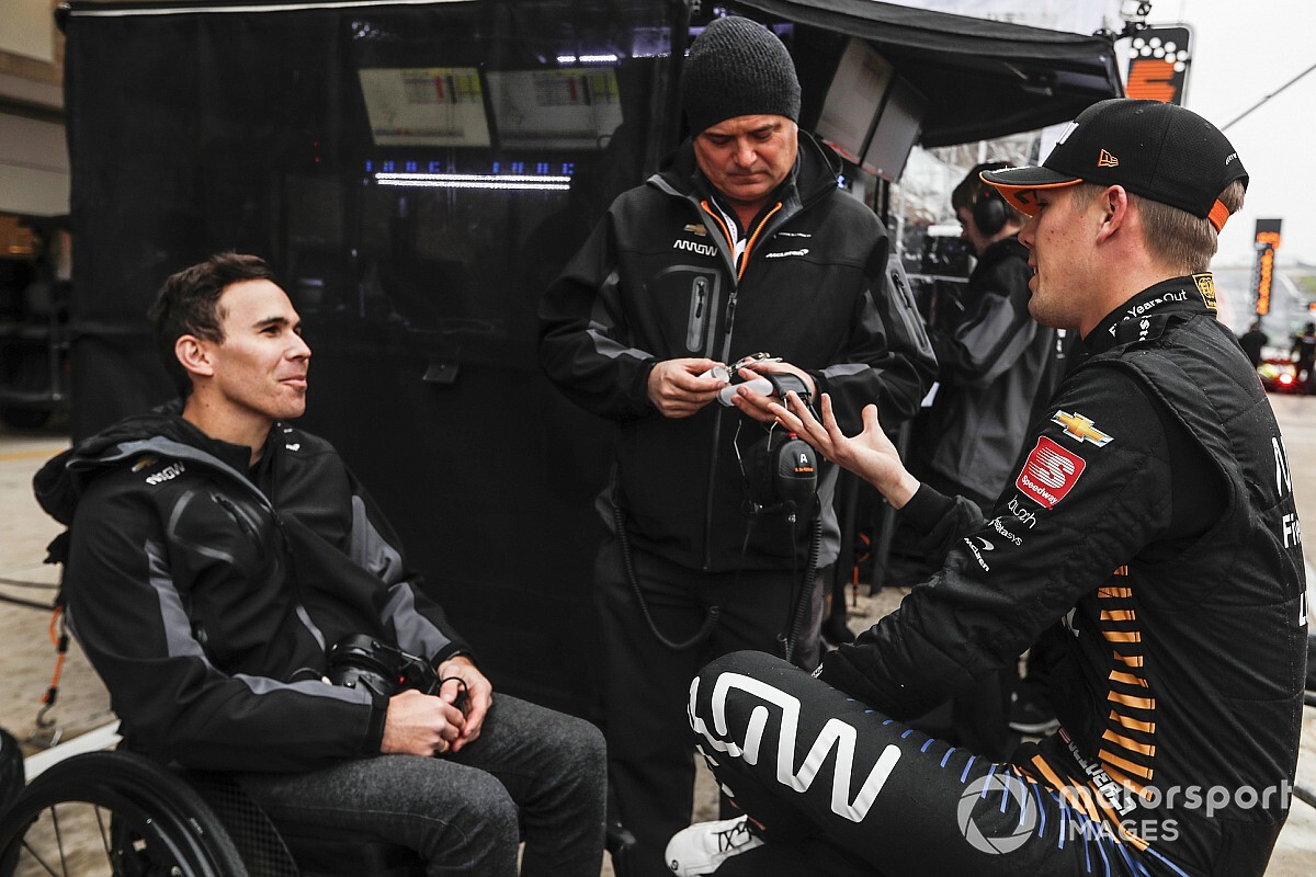 "Robert Wickens: ""I'm impatient… but it's hard to complain"""