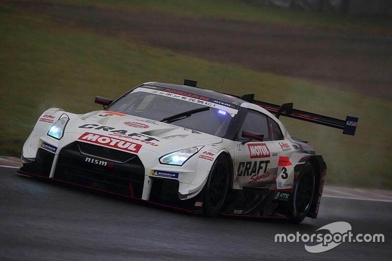 第7戦SUGO:3号車CRAFTSPORTS GT-Rが雨を制す! 圧巻の20秒差で今季初勝利
