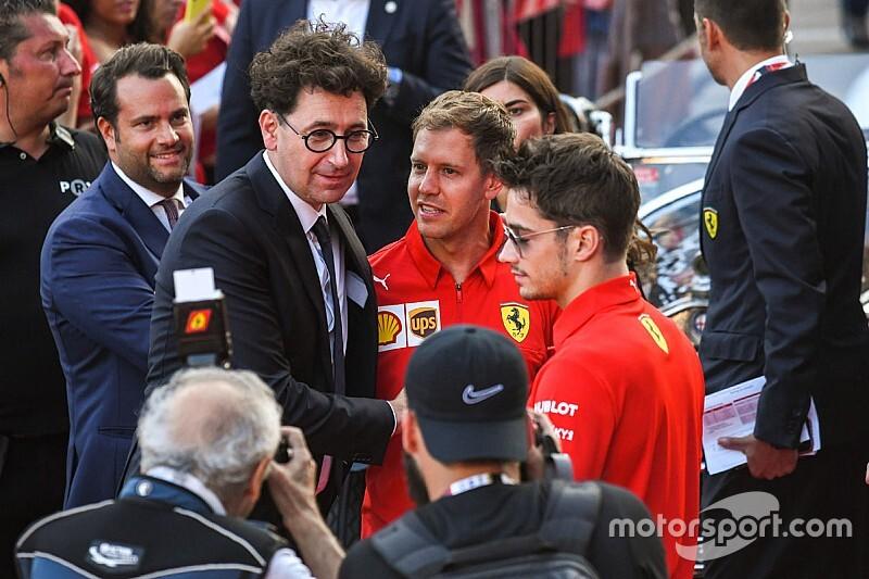 Tiszta a levegő a Ferrarinál a Vettel-Leclerc ütközés után