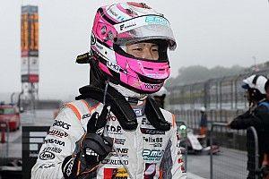 2位獲得の坪井翔「良いレースだった」と初表彰台に満足げな顔を見せる