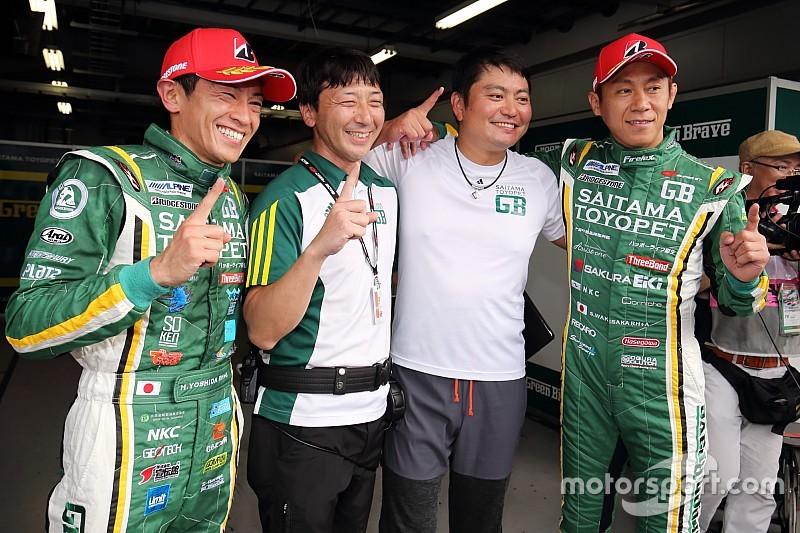 第5戦富士GT300予選|埼玉トヨペットGBマークXが初ポール獲得!
