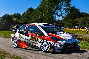 トヨタ表彰台を独占! WRCドイツを完全制覇。タナク今季5勝目
