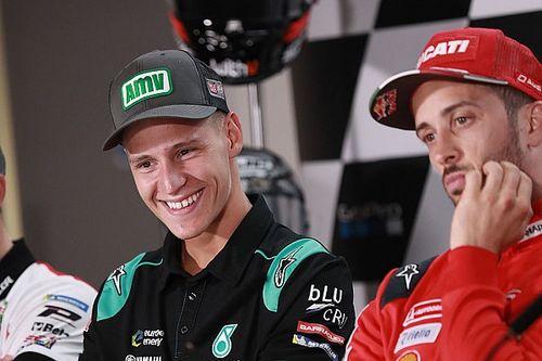 "Pour Quartararo, ""on va s'amuser"" en MotoGP à Silverstone"
