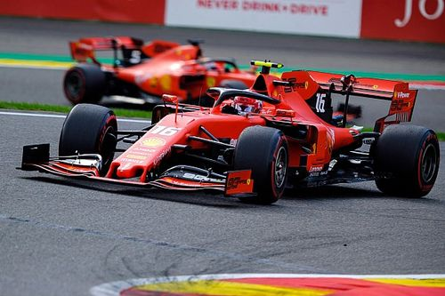Ferrari ziet teamorders eindelijk werken met zege op Spa