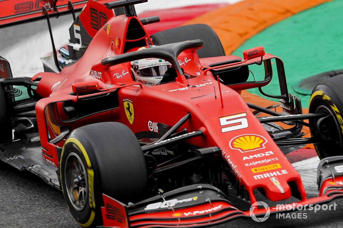 """FIA gaf Vettel """"voordeel van de twijfel"""" na overschrijden track limits"""