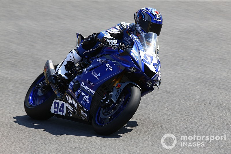 Supersport, Villicum: Superpole di Perolari