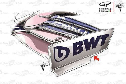 Racing Point presentará en Alemania evolución inspirada en Mercedes