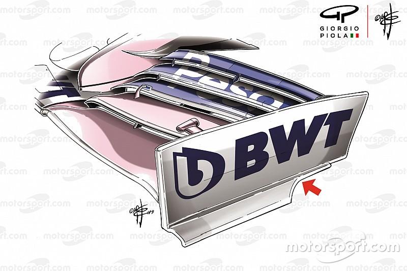 Racing Point: la nuova RP19 è d'ispirazione Mercedes