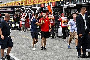 Leclerc szerint elfogadhatatlan volt a pálya azon része, ahol kicsúszott